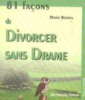 81 facons de divorcer sans drame - Intérieur - Format classique
