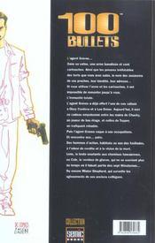 100 Bullets T.2 - 4ème de couverture - Format classique