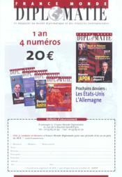 Revue Politique Et Parlementaire N.1019 ; Elections : Sondages Et Alternance - 4ème de couverture - Format classique