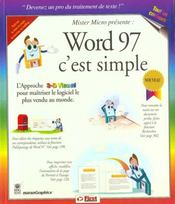Word 97, C'Est Simple - Intérieur - Format classique