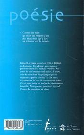 Hasards de mer ; autres incertitudes - 4ème de couverture - Format classique