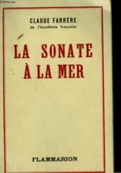 La Sonate A La Mer. - Couverture - Format classique