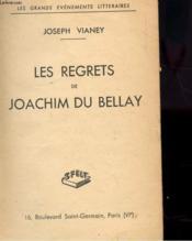 Les Regrets De Joachim Du Bellay - Couverture - Format classique