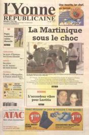 Yonne Republicaine (L') N°190 du 17/08/2005 - Couverture - Format classique