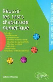 Reussir Les Tests D'Aptitude Numerique - Intérieur - Format classique