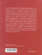 Introduction A Heidegger - 4ème de couverture - Format classique