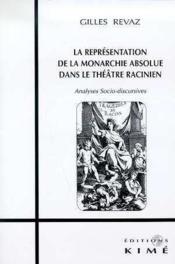 Representation De La Monarchie Absol - Couverture - Format classique
