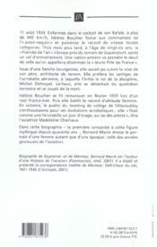 Helene Boucher, La Fiancee De L'Air - 4ème de couverture - Format classique