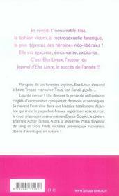 Elsa linux a saint-tropez - 4ème de couverture - Format classique