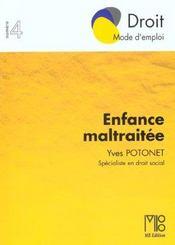 Enfance Maltraitee (L') - Intérieur - Format classique