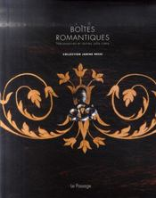 Boîtes romantiques ; coffret - 4ème de couverture - Format classique