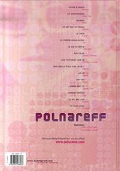 Polnareff ; métamorphoses - 4ème de couverture - Format classique