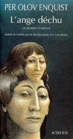 L'ange déchu ; un roman d'amour - Couverture - Format classique