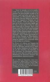 Le prince et le moine - 4ème de couverture - Format classique