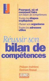 Les conseils t.229 ; reussir son bilan de competences - Intérieur - Format classique