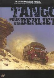 Tango Pour Un Berliet - Intérieur - Format classique