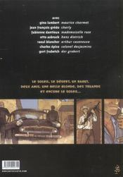 Tango Pour Un Berliet - 4ème de couverture - Format classique