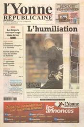 Yonne Republicaine (L') N°194 du 22/08/2005 - Couverture - Format classique