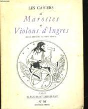 Les Cahiers De Marottes Et Violons D'Ingres - Revue Eservee Au Corps Medical N°10 - Couverture - Format classique