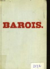 Barois - Couverture - Format classique