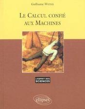 Le Calcul Confie Aux Machines No12 - Intérieur - Format classique