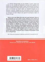 Herman Melville Pierre Or The Ambiguities L'Ombre Portee - 4ème de couverture - Format classique