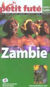 Zambie (edition 2008/2009) – Collectif Petit Fute – ACHETER OCCASION – 15/08/2007