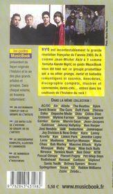 Kyo De A A Z - 4ème de couverture - Format classique