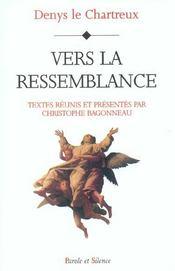 Vers La Ressemblance - Intérieur - Format classique