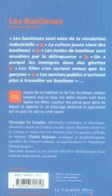 Les banlieues (3e édition) - 4ème de couverture - Format classique