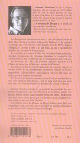 Le Roman De Bergen, 1999 Crepuscule T.2 - 4ème de couverture - Format classique