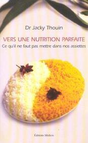 Vers une nutrition parfaite - Intérieur - Format classique