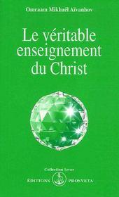 Le veritable enseignement du Christ - Couverture - Format classique