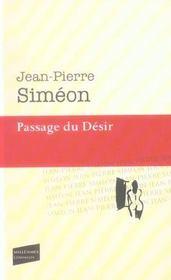 Passage Du Desir - Intérieur - Format classique