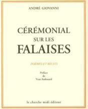 Ceremonial Sur Les Falaises Poemes Et Recits - Couverture - Format classique