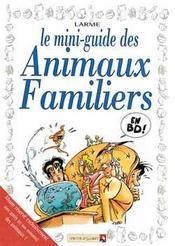 Les mini-guides en BD t.12 ; animaux familiers - Intérieur - Format classique