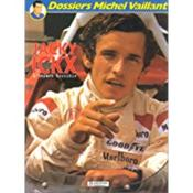 Dossier Michel Vaillant T.2 ; Jacky Ickx ; L'Enfant Terrible - Couverture - Format classique