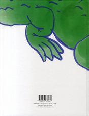Une affreuse rage de dents - 4ème de couverture - Format classique