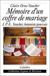 Mémoire d'un coffre de mariage - Intérieur - Format classique