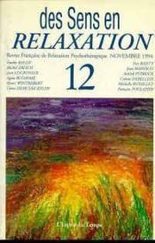Rev Fran.Relax.Psy.12 94 Sens Relax. - Couverture - Format classique