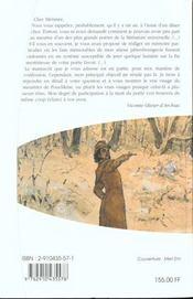 Les Memoires De D'Archiac ; Chronique Petersbourgeoise De L'Annee 1863 - 4ème de couverture - Format classique
