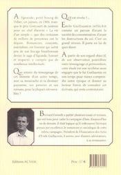 Preceptes pour une vie simple ; emile guillaumin, 1873-1951 - 4ème de couverture - Format classique