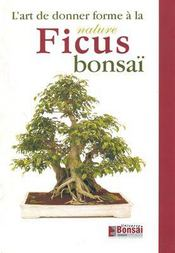 Ficus bonsai ; l'art de donner forme à la nature - Intérieur - Format classique