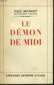 Le Demon De Midi. - Couverture - Format classique