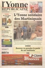 Yonne Republicaine (L') N°197 du 25/08/2005 - Couverture - Format classique