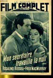 Le Nouveau Film Complet N° 89 - Mon Secretaire Travaille La Nuit - Couverture - Format classique