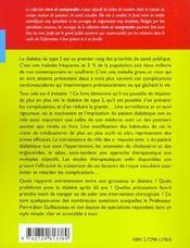 Le Diabete De Type 2 2e Edition - 4ème de couverture - Format classique