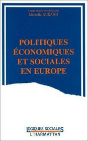Politiques économiques et sociales en Europe - Intérieur - Format classique