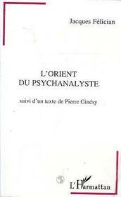 L'orient du psychanalyste - Intérieur - Format classique