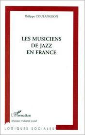 Les musiques de jazz en France - Couverture - Format classique